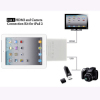 HDMI Connection kit With AV Cable Mini USB Cable Card Reader For iPad iPhone - White