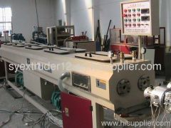 PVC TWIN-PIPE EXTRUSION LINE