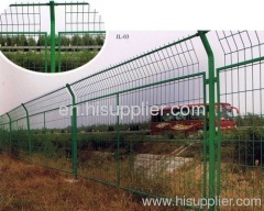 SS Welded Wire Mesh Fence