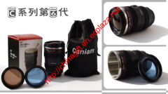 Caniam Camera Lens Coffee Mug with stainless steel 24-105 mm (Sixth Generation)