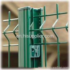Metal Wire Mesh Fence post