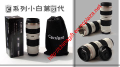 Caniam Coffee Mug White 1:1 70-200mm Lens thermos Mug/cup (White 2nd Generation)
