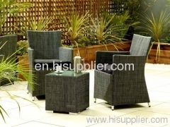 rattan outdoor garden dining set