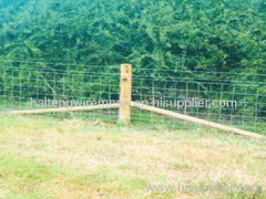 galvanized grassland fence netting