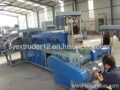 PVC-120/33 GRANULATE EXTRUSION LINE(250kg/h)