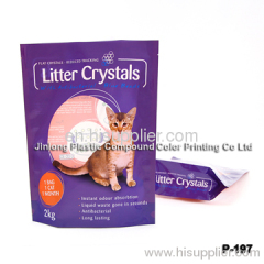 litter crystals bag