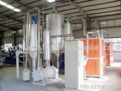 TSE-75/36 PET sheet production line (300kg/h)
