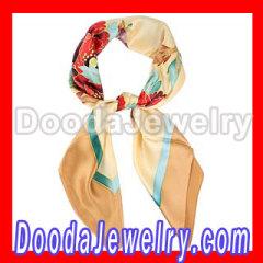 hand painted echo silk scarf