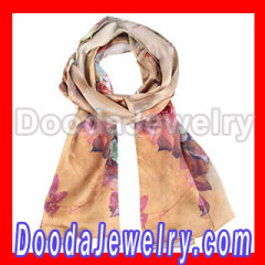 Cheap Silk Scarf headband Spurts Draws Long Oblong Silk Scarves Wholesale
