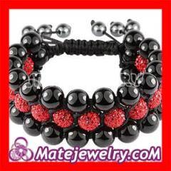 Multi-Row Shamballa Crystal Bracelet