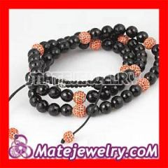 Wholesale Long Shamballa Necklaces