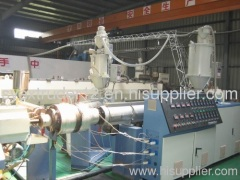 PE Silicone Core Pipe Production Line(75-110mm)1