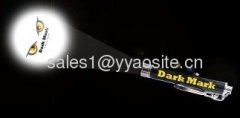 LED keychain projection torch/ LOGO projection light