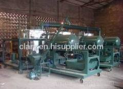 engine oil refine machine
