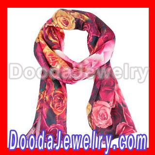 Cheap silk scarf bound