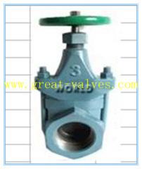 clip gate valve