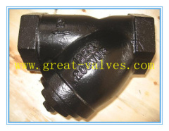 527-F (ANSI) Cast Iron Strainer