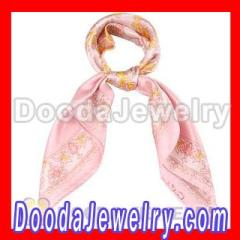 Small Square Gucci Silk Scarf