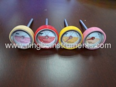 mini steak thermometer with silicone cap