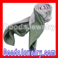 Large silk scarf blindfold