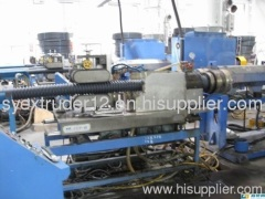 PE single wall corrugated pipe production line(25-63mm)1