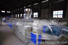 PVC profile production line extruder