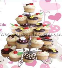 5-tier cup cake stand