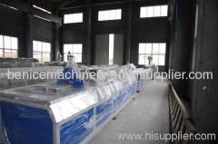 PVC profile production line cutting machine