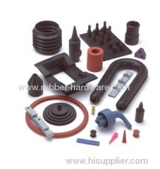 Molded auto rubber part