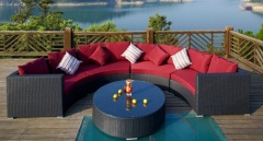 outdoor wicker furniture rattan sofa sets
