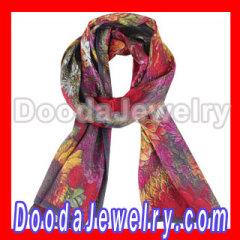 oscar de la renta silk scarf Cheap