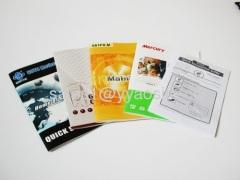 colors manual, product manual book printed