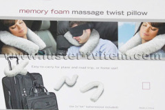 MEMORY FOAM MASSAGE TWIST PILLOW