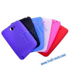 Silicone Soft Skin Cover Case for Samsung Galaxy Note i9220