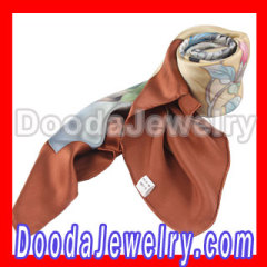silk butterfly scarf for Women
