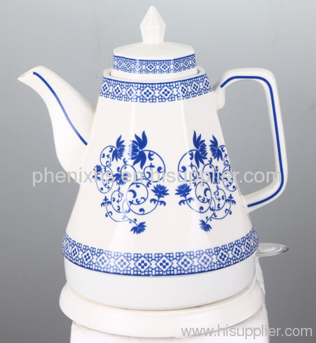 Porcelain Electric Kettle ~ L ceramic electric water kettle from china manufacturer