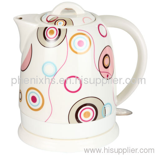 1.5L ceramic jug kettle