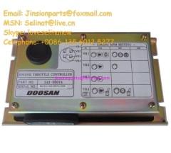 Daewoo/Doosan S220-V engine throttle controller 543-00074,Doosan Daewoo e-epos engine controller,digger spare parts