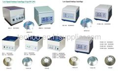 Low Speed Desktop Centrifuges