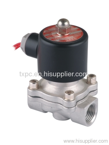 "2S 1/2""series stainless steel solenoid valves"