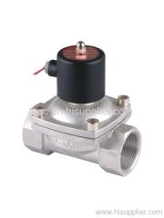"2S 2""stainless steel solenoid valve"