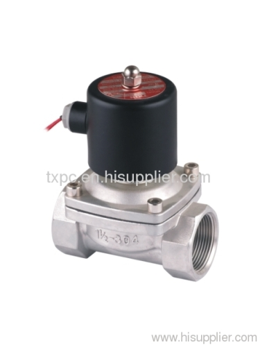 "2S 1-1/2""stainless steel solenoid valve"