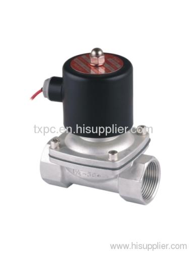 "2S 1-1/4""stainless steel solenoid valve"