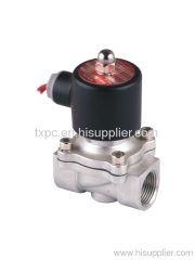 "2S 3/4""stainless steel solenoid valve"