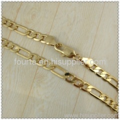 gold-plated necklace 1410006 IGP FJ jewelry