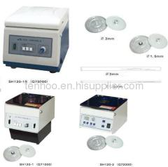 Tabletop high speed micro centrifuge