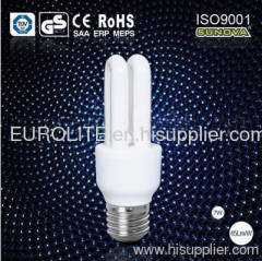 2U high brightness compact fluorescent lamp