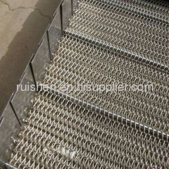 Conveyor Mesh Belt with Attachment