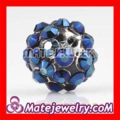 Shamballa Crystal Plastic Beads