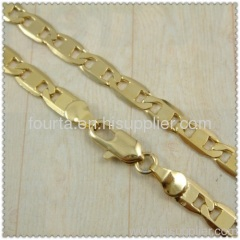 gold plated necklace FJ 1410062 IGP